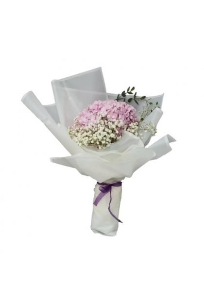 HB08839 Pink Hydrangea Bouquet