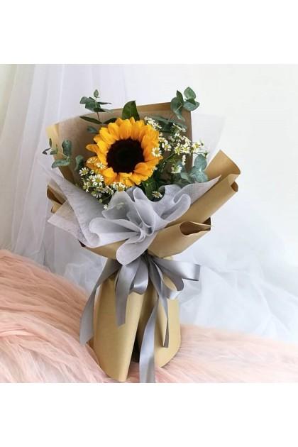 HB270 Sunflower Chamomile Bouquet