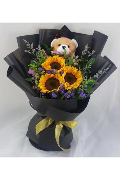 CON103 Convo Sunflower Bouquet