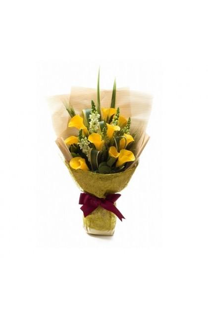 HB38  (Yellow Calla Lily)