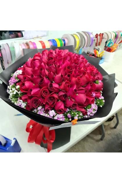 HB048 Rose Sweet William