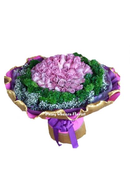 HB179 Purple Roses