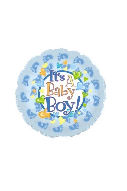 Baby Boy Foil Balloon