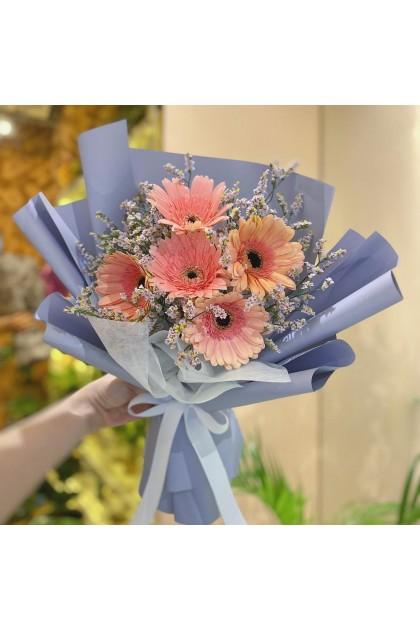 HB214 Pink Daisy Bouquet