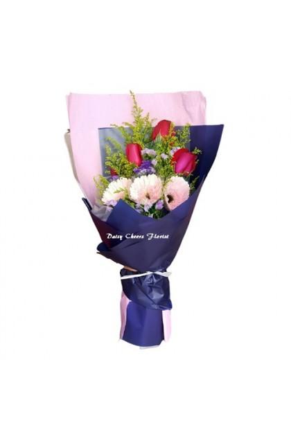 HB233 Rose Gerbera