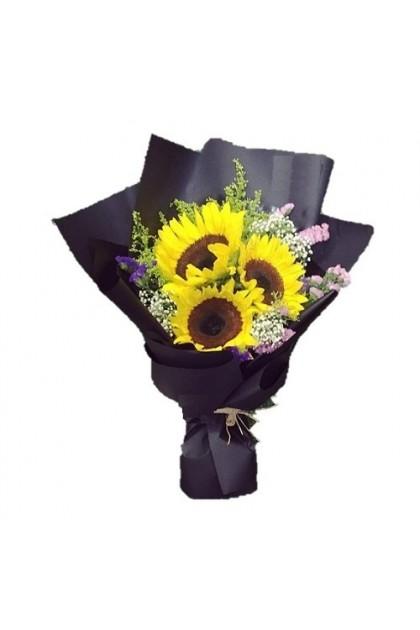 HB298 3 Sunflower Bouquet