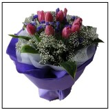 HB297 (10 Purple Tulips)
