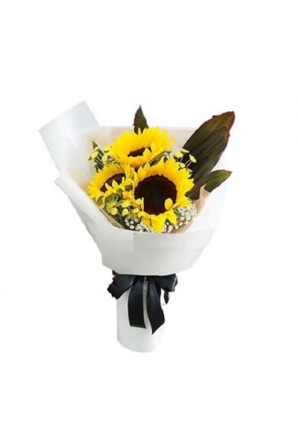 HB288 3 Sunflower Bouquet