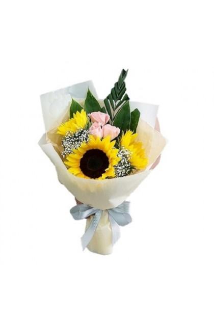 HB289 Sunflower Roses