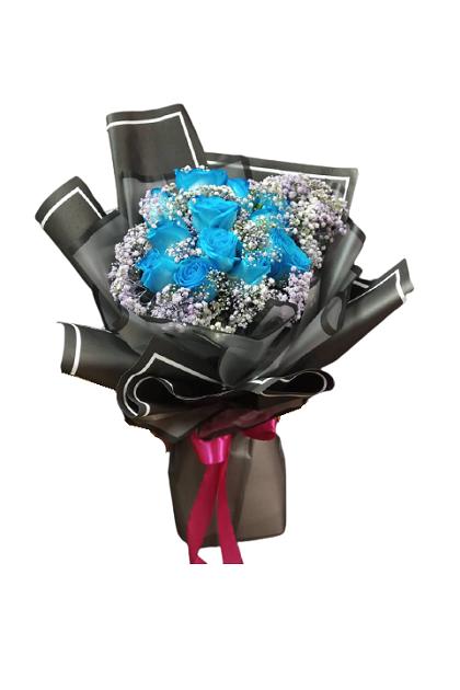 HB292 (12 Blue Roses)