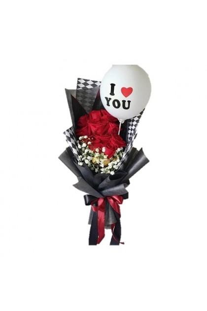HB295 [Roses Ferrero Balloon]
