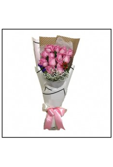 HB294 [12 Pink Roses]
