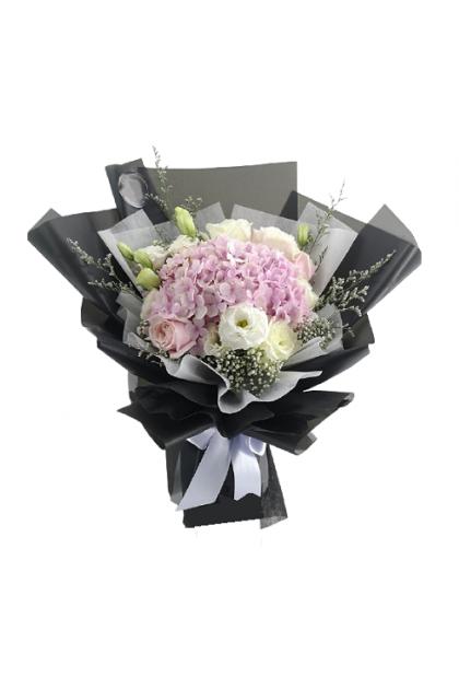 HB321 Rose Hydrangea