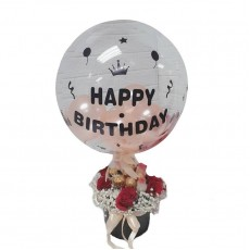 HB08811 Box Flower Birthday