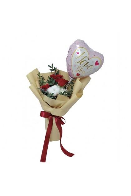 HB08807 Rose Balloon