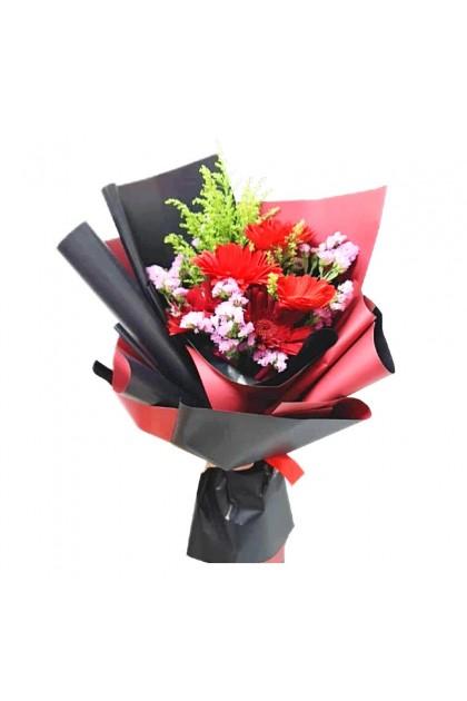 HB08937 Gerbera Bouquet