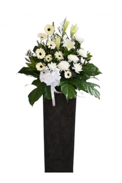 SF011 Condolences Flower Stand