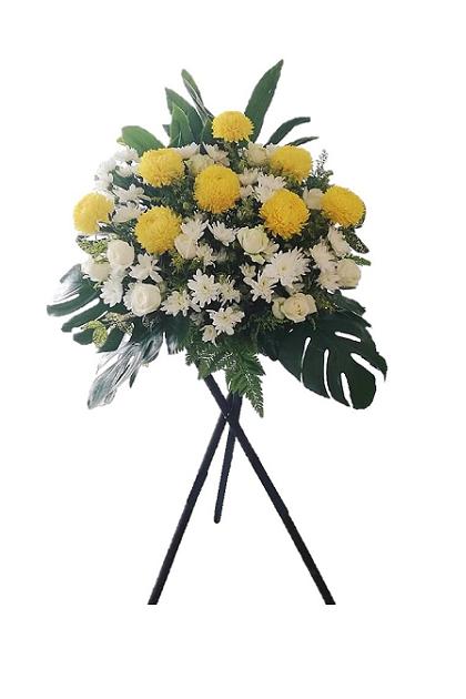 SF014 Condolences Flower Stand