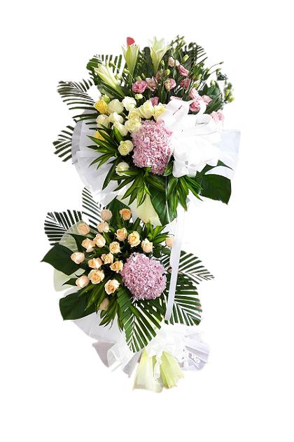 SF016 Condolences Flower Stand