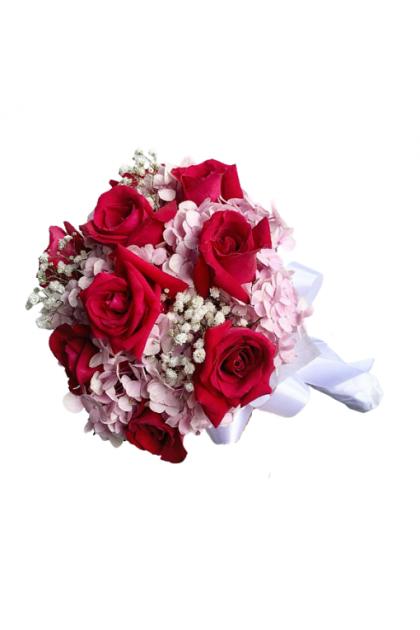 BB018 Rose Hydrangea