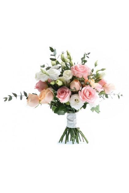 BB019 Mix Color Rose Eustoma Boutique
