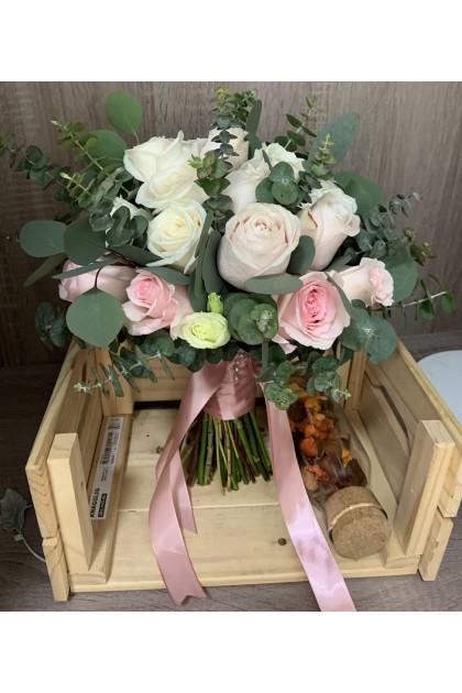BB045 Rose Bridal Bouquet