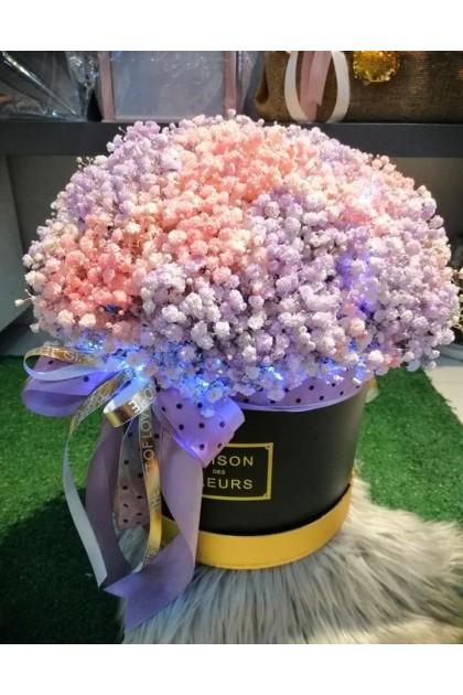 BXF010 Baby-Breath Flower Box