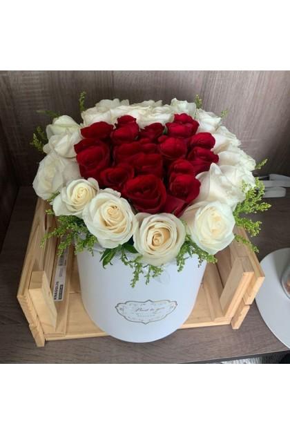 BXF011 Rose Flower Box