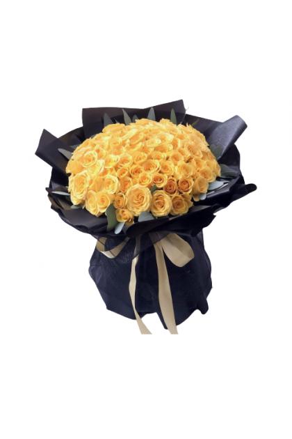 HB131 Yellow Rose 99pcs