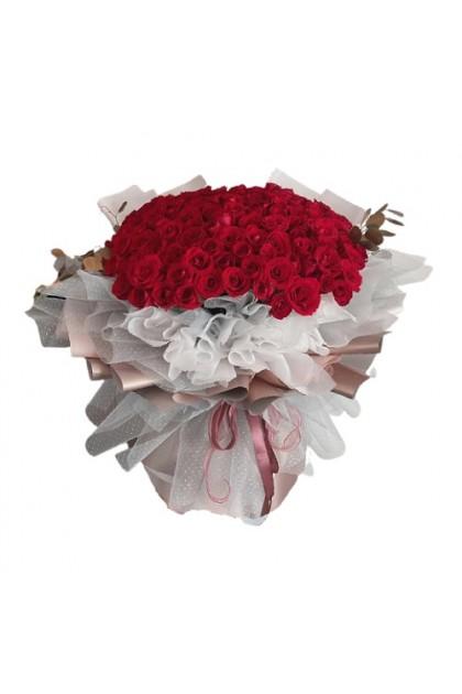 HB185 Kenya Rose Bouquet
