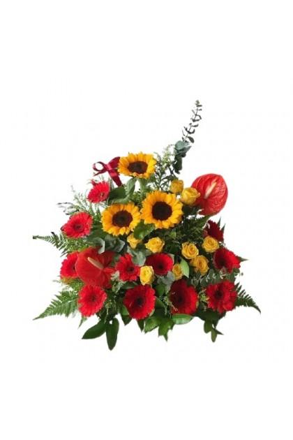 TFB004 Fresh Flower Basket