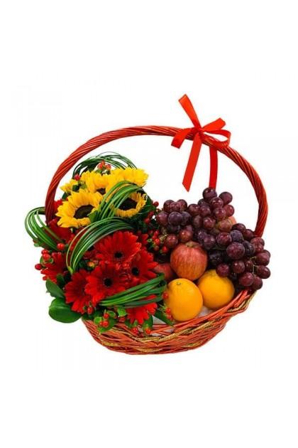 FFA0098 Flower Fruit Basket